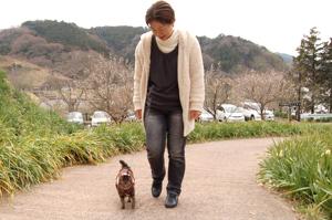 みゅうちゃん散歩♪